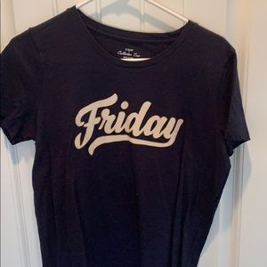 J crew Friday t shirt
